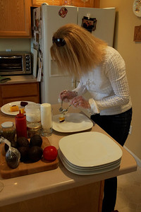 Sous-chef Marnie at work
