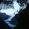 Fox Glacier - taken through the rain forest!