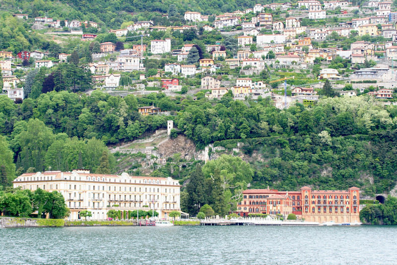 The next few shots (including Bellagio) are in the Lake Como (not Taney-como!) region in the North - almost at the border.  Some incredible villas here, including George Clooney's, apparently.  [Not sure we saw it.]