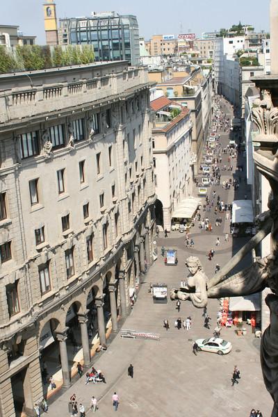 . . . 3)  a city street.
