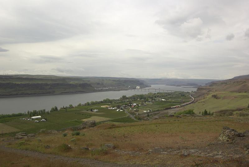 View from Stonehenge.