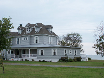 The Lodgecliff on the Choptank.  This was my first choice, but I didn't think October would be a good time for sitting on Adirondack chairs looking at the Bay.
