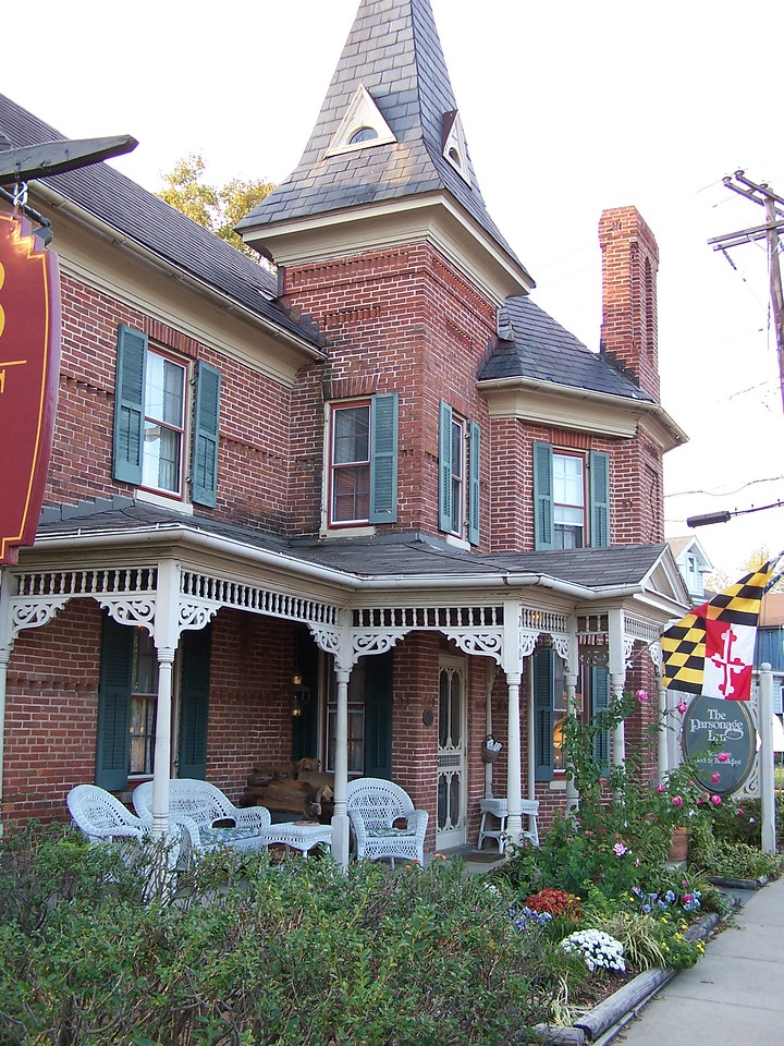 "The Parsonage Inn. <a href=""http://www.bbonline.com/md/parsonage/index.html"">http://www.bbonline.com/md/parsonage/index.html</a><br /> Built in 1883."
