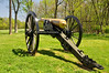 035 Civil War Artillery Piece, Worthington House, Monocacy Battlefield, Maryland