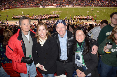 Maryland vs. ND at FedEx Field 11-12-11