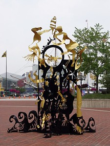 McKeldin Square Sculpture Park - Dreams