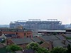 <b>M&T Bank Stadium</b> is the home to the Baltimore Ravens, Baltimore's National Football League franchise. Opened in 1998, M&T Bank Stadium is one of the newest and most state-of-the-art stadiums built. M&T Bank Stadium was formerly known as Ravens Stadium at Camden Yards, then PSINet Stadium in 1999 after ISP PSINet acquired naming rights. It then reverted back to being called Ravens Stadium in 2002 when PSINet filed for bankruptcy. In 2003 M&T Bank acquired naming rights to the stadium.   Completed in 1998 at an estimated cost of $220 million, the stadium has 119 suites and 8,196 club seats.  (This photo was taken from my hotel room.) (July 31, 2006)