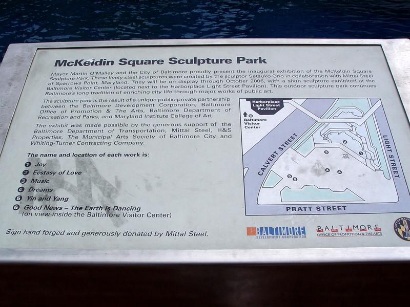 McKeldin Square Sculpture Park
