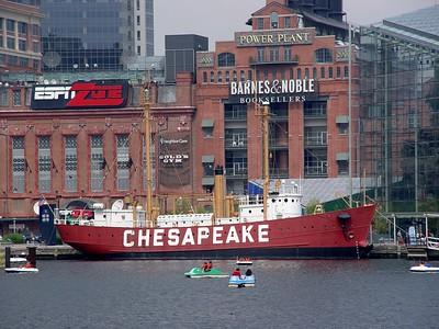 Lightship 116 now called Chesapeake
