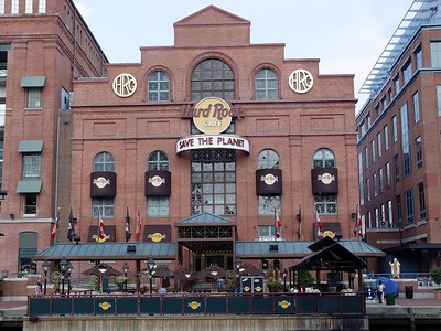 Power Plant and Hard Rock Cafe - Inner Harbor