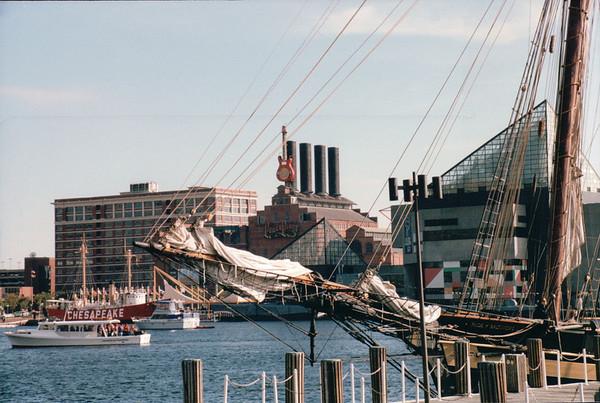 Baltimore, MD - Inner Harbor Area