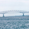 Francis Scott Key Bridge From Clipper Ship - Baltimore, MD  10-16-97