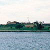 Passing Fort McHenry on Clipper Ship - Baltimore, MD  10-16-97