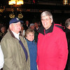Chuck, Carolyn and Randal Enjoying the Music on Shore  - New Year's Eve - Baltimore Harbor, MD