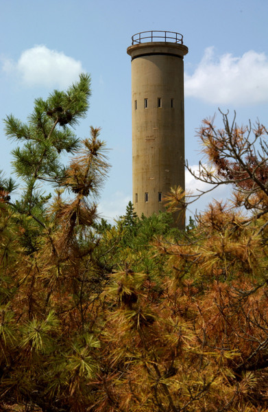 One of many observation towers at Cape Henlopen State Park-- near entrance