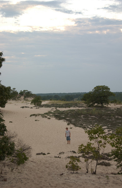 Seth at The Great Dune, Cape Henlopen