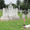 Grave and Memorial of Thomas Johnson, First Governor of Maryland - Mt. Olivet Cemetery - Frederick, MD