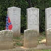 Long Wall of Civil War Graves from Many States - Mt. Olivet Cemetery - Frederick, MD