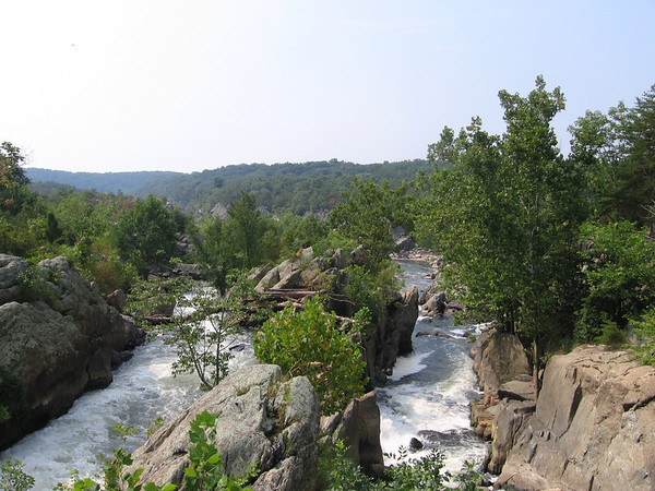 Overlook of Great Falls of the Potomac