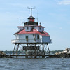 Thomas Point Lighthouse, Chesapeake Bay, Maryland.