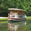 Chesapeake and Ohio Canal boat. Great Falls Park.