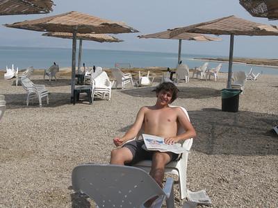 Eric relaxing!