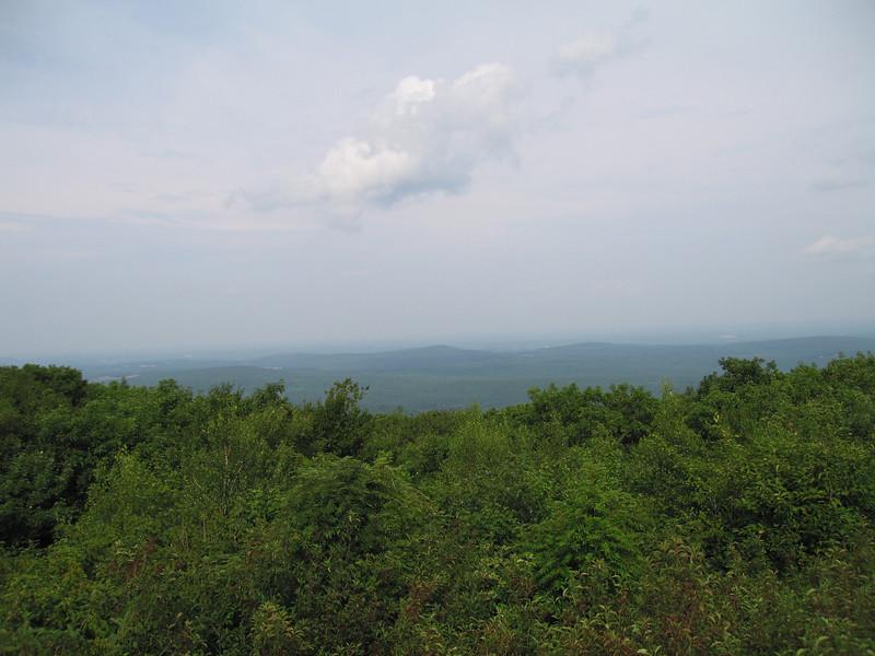 View from summit of Wachusett Mountain, Massachusetts, 7 Aug 2007