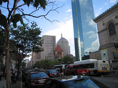 Boylston St., Boston, 8 Aug 2007