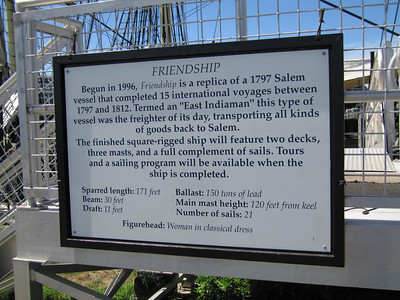 Friendship sign, Salem, 9 Aug 2007