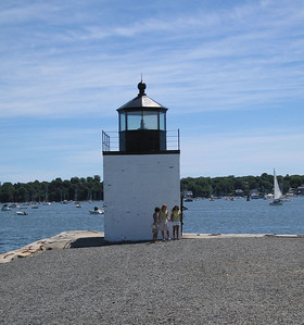 Lighthouse, Salem, 9 Aug 2007