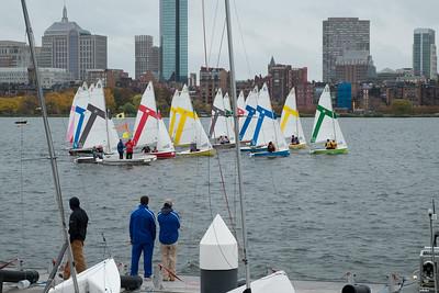 20151025.  MIT sailboat race on Charles River, Boston MA.