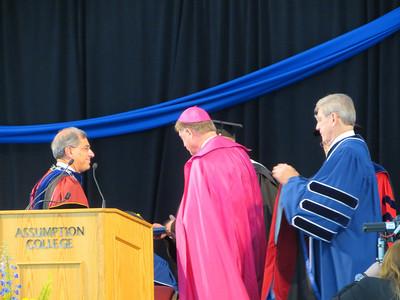 Most Rev. Robert J. McManus, S.T.D. - Honorary Degree Recipient - Doctor of Divinity