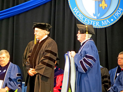 Maurice J. Boisvert, AP - Honorary Degree Recipient - Doctor of Human Letters