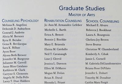 Assumption College Commencement