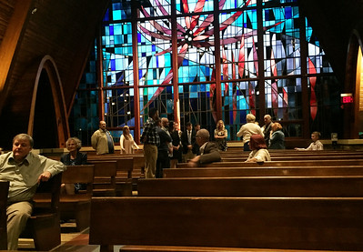 Conrad's and Gena's Church Rehearsal