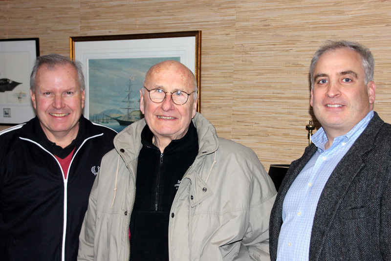 Mark, Mr. Maestranzi, John