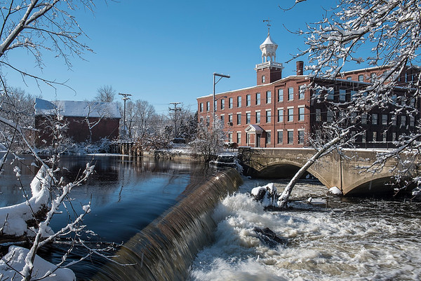 Faulkner Mills Reflections - 18-Feb-2018
