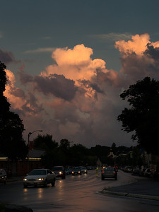 30 July 2013.  Evening after a rain storm in Lexington MA.