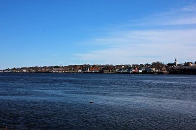 Merrimack River between Ring's Island and Downtown Newburyport