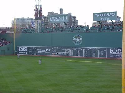 Fenway Park - Green Monster - Boston