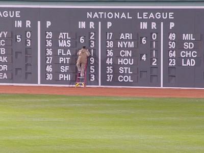 Fenway Park Scoreboard - Boston