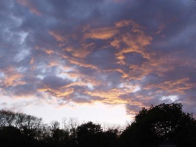 Sunset in Newbury