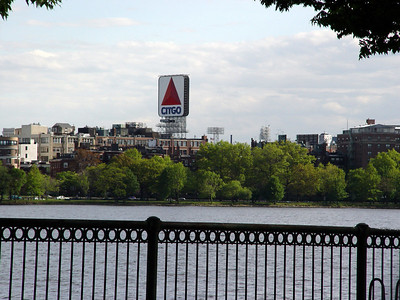 View from across the Charles River