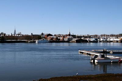 View from Ring's Island Marina - Salisbury