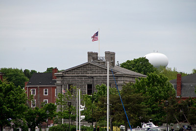 View of the Custom House/Maritime Museum from Ring's Island Marina