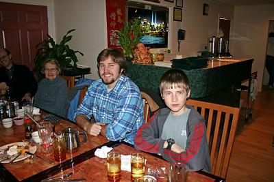 Mrs. W., Conrad, and Julian