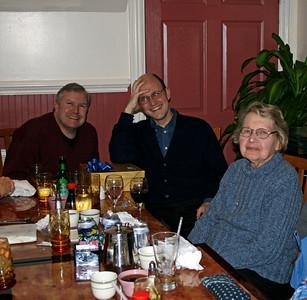 Mark, Chris, Mrs. W.