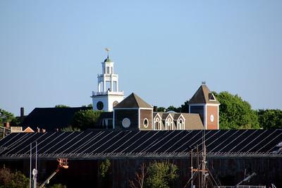 Steeple of the Old South Presbyterian Church - Newburyport