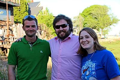 Dan, Conrad, and Gena