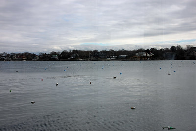 View of Marblehead Neck from the Corinthian Yacht Club